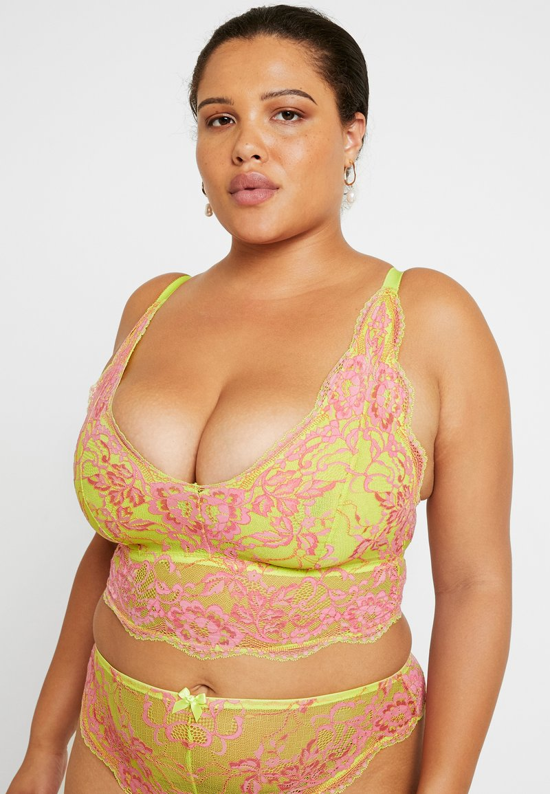 SAVAGE X FENTY  - PLUS BRALETTE - Bustier - light green