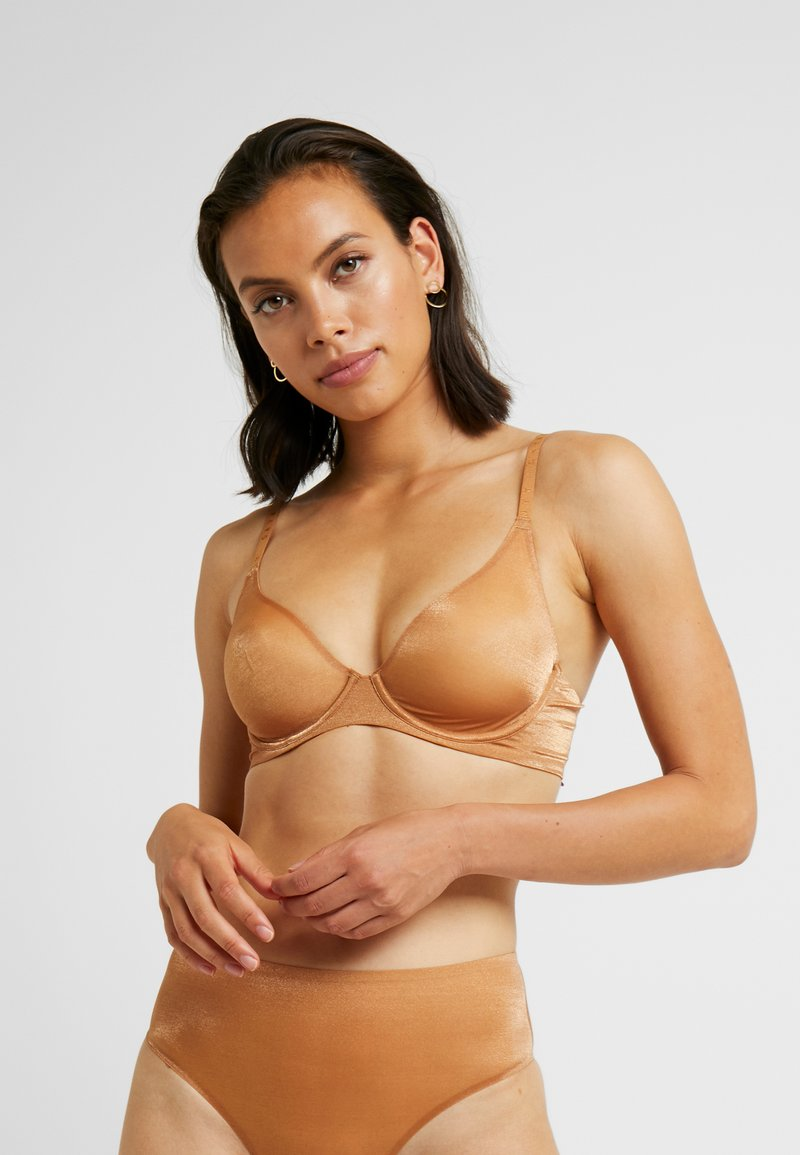 SAVAGE X FENTY  - UNLINED BRA - Underwired bra - gold