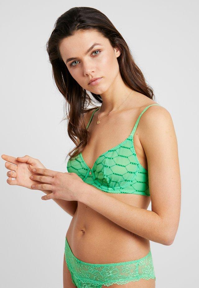 UNLINED BRA - Bygel-bh - irish green