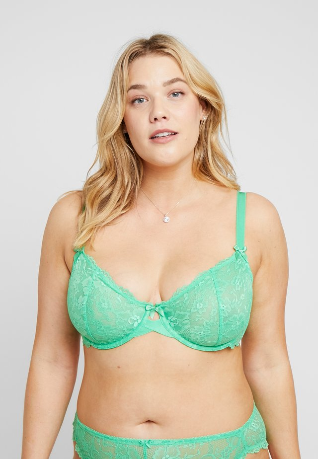 UNLINED BRA - Podprsenka s kosticemi - irish green