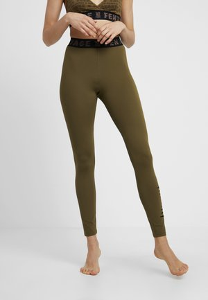 LEGGING - Pyjamasbukse - military olive