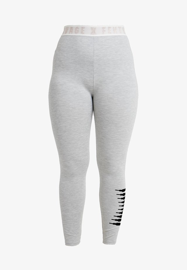 PLUS LEGGING - Nachtwäsche Hose - heather grey