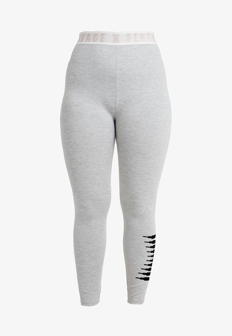SAVAGE X FENTY  - PLUS LEGGING - Nachtwäsche Hose - heather grey