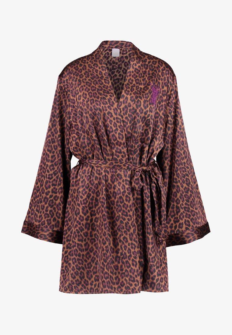 SAVAGE X FENTY  - PLUS ROBE - Dressing gown - toffee
