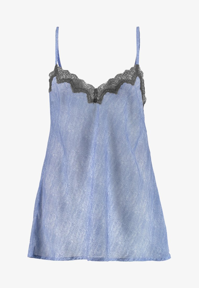 SAVAGE X FENTY - PLUS DRESS - Camicia da notte - blue denim