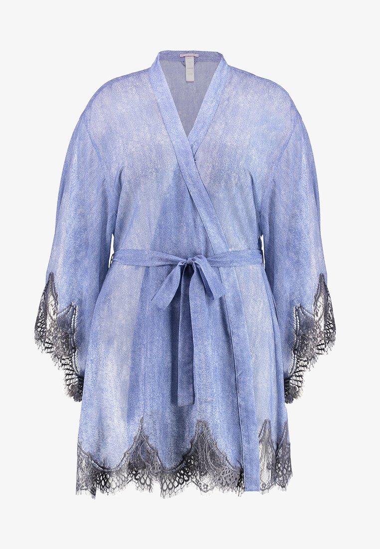 SAVAGE X FENTY  - PLUS SHORT ROBE - Dressing gown - blue