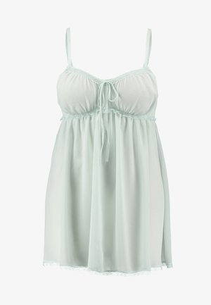PLUS EMPIRE BABYDOLL - Nattskjorte - fair aqua
