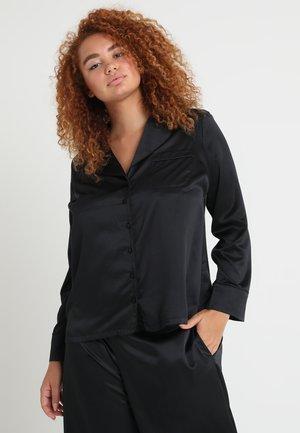 PLUS PAJAMA - Pyjama top - black