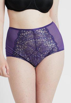 PLUS HIGH WAIST BRIEF - Slip - indigo purple