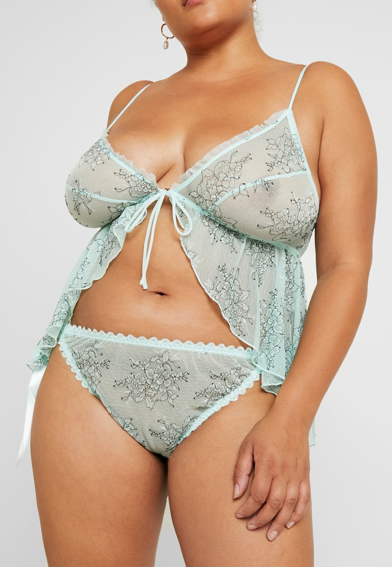 SAVAGE X FENTY  - PLUS CHEEKY - Slip - fair aqua