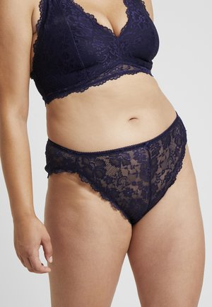 PLUS HIGH LEG BRAZILIAN - Slip - eclipse