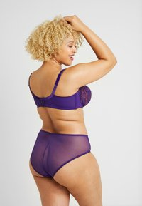 SAVAGE X FENTY - PLUS HIGH WAIST CHEEKY - Braguitas - violet indigo - 2