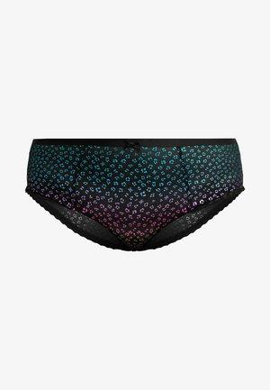 PLUS HIGH WAIST PANTY - Braguitas - multi-coloured/black