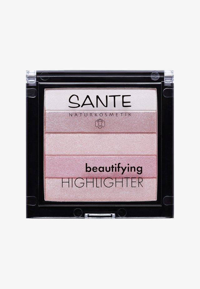BEAUTIFYING HIGHLIGHTER  - Rozświetlacz - 02 rose