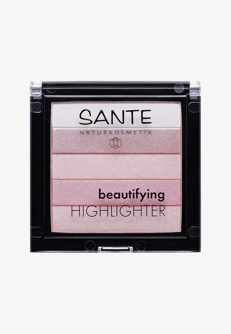 Sante - BEAUTIFYING HIGHLIGHTER  - Highlighter - 02 rose