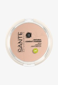 Sante - NATURAL COMPACT POWDER - Puder - 01 cool ivory - 0
