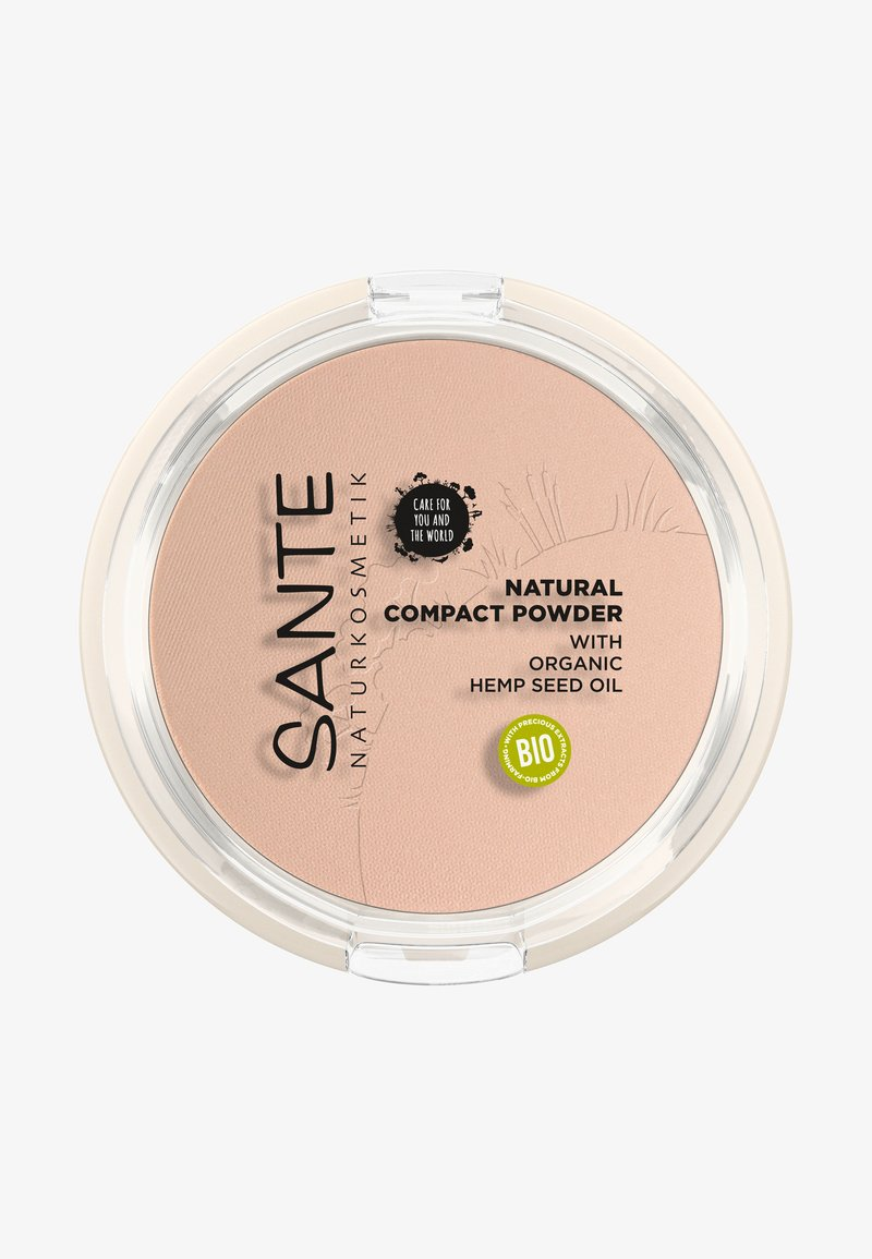 Sante - NATURAL COMPACT POWDER - Puder - 01 cool ivory