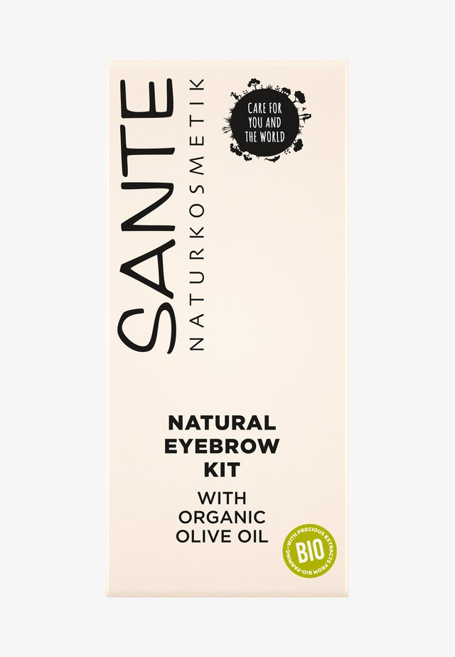 NATURAL EYEBROW KIT - Make-up Set - -