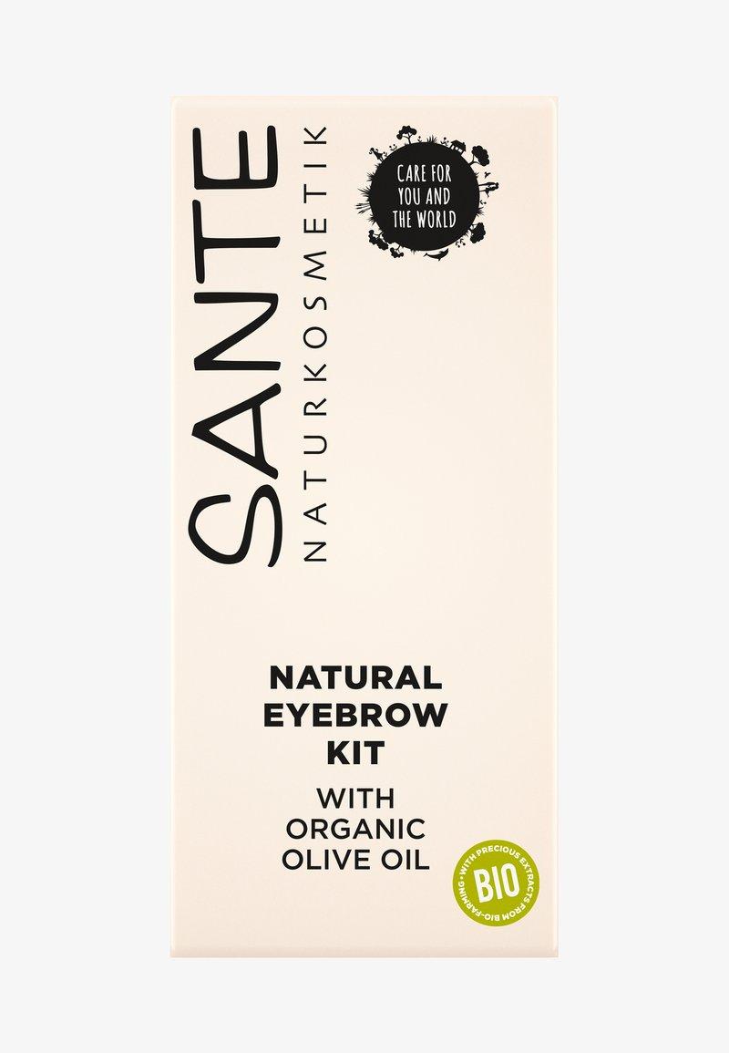 Sante - NATURAL EYEBROW KIT - Make-up Set - -