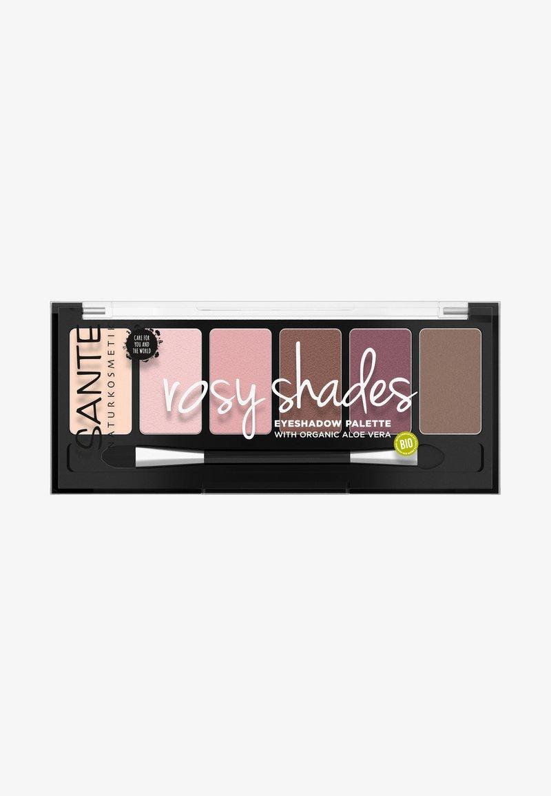 Sante - EYESHADOW PALETTE ROSY SHADES - Lidschattenpalette - rosy shades