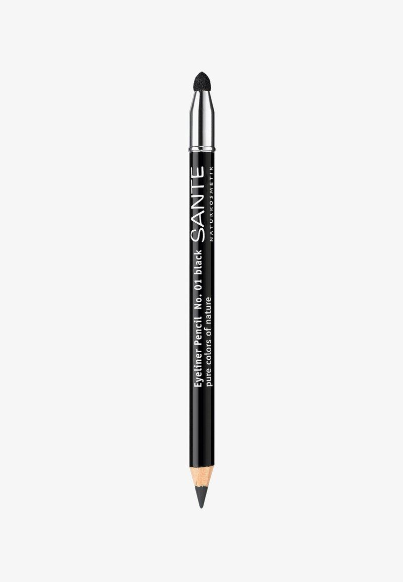 Sante - EYELINER PENCIL  - Eyeliner - 01 black