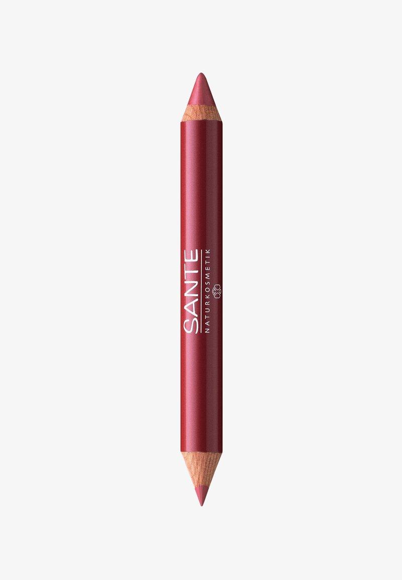 Sante - LIP DUO CONTOUR & GLOSS  - Crayon à lèvres - 02 natural look