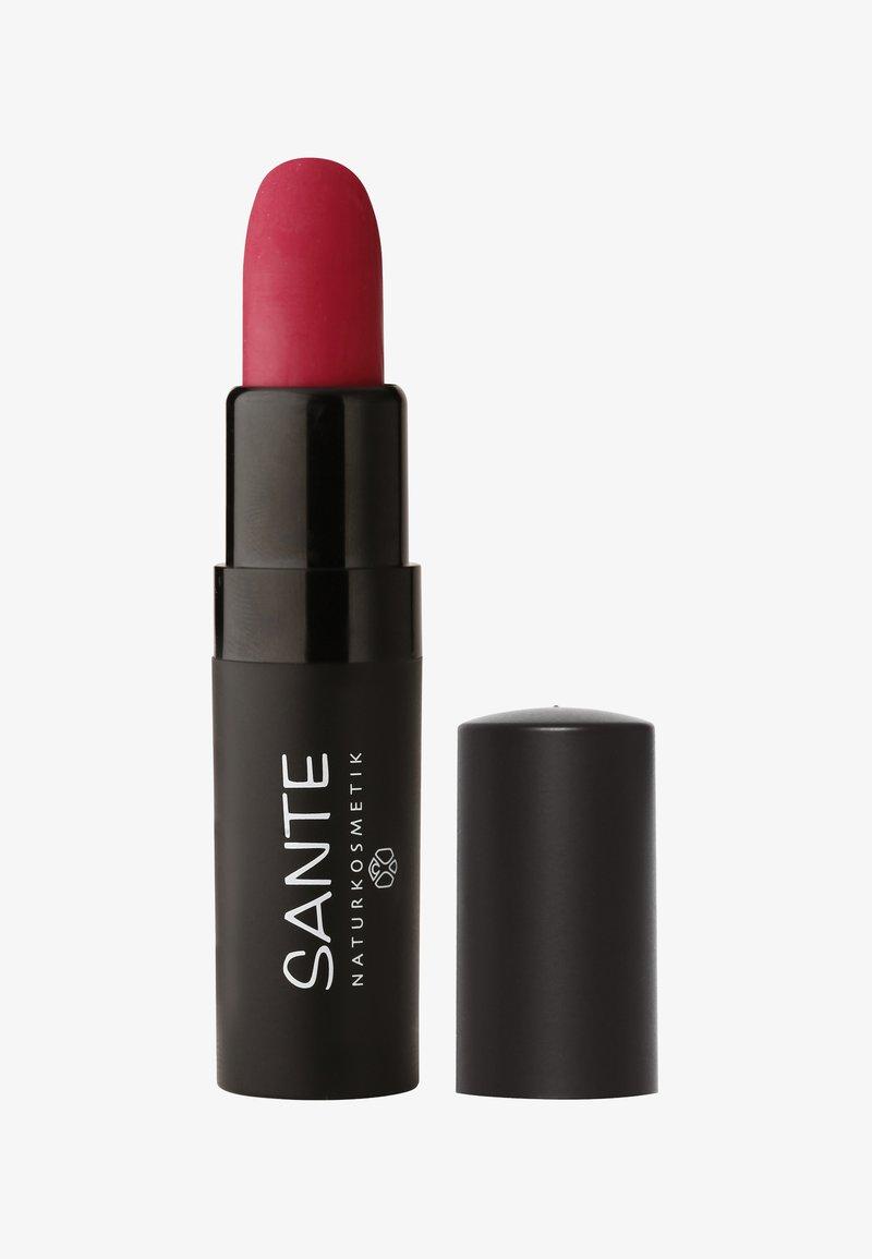 Sante - LIPSTICK MAT MATT MATTE - Lippenstift - 03 velvet pink