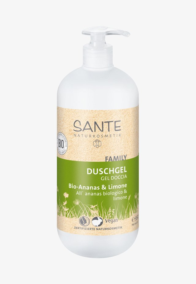 SHOWER GEL ORGANIC PINEAPPLE & LEMON - Duschgel - -