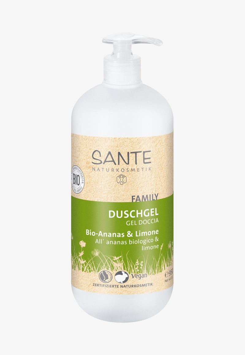 Sante - SHOWER GEL ORGANIC PINEAPPLE & LEMON - Duschgel - -