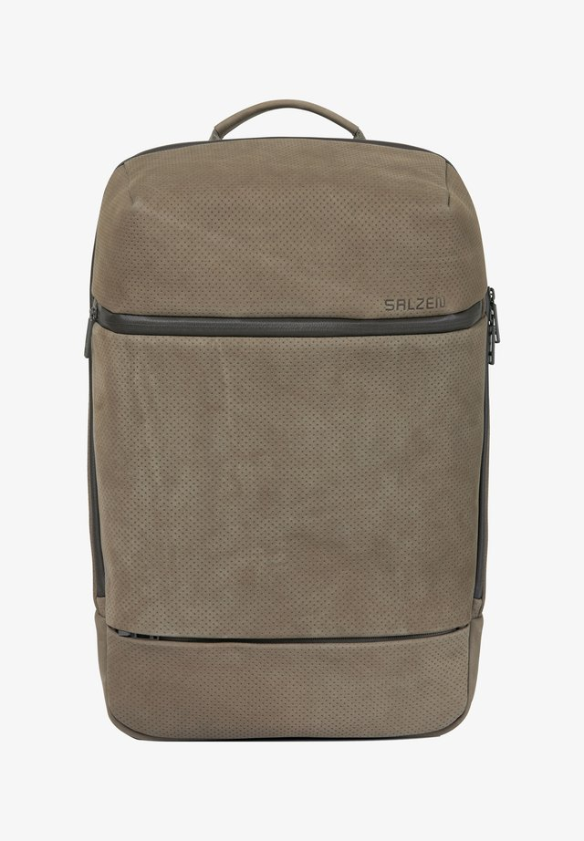 SAVVY BUSINESSRUCKSACK RFID 47 CM LAPTOPFACH - Tagesrucksack - light brown