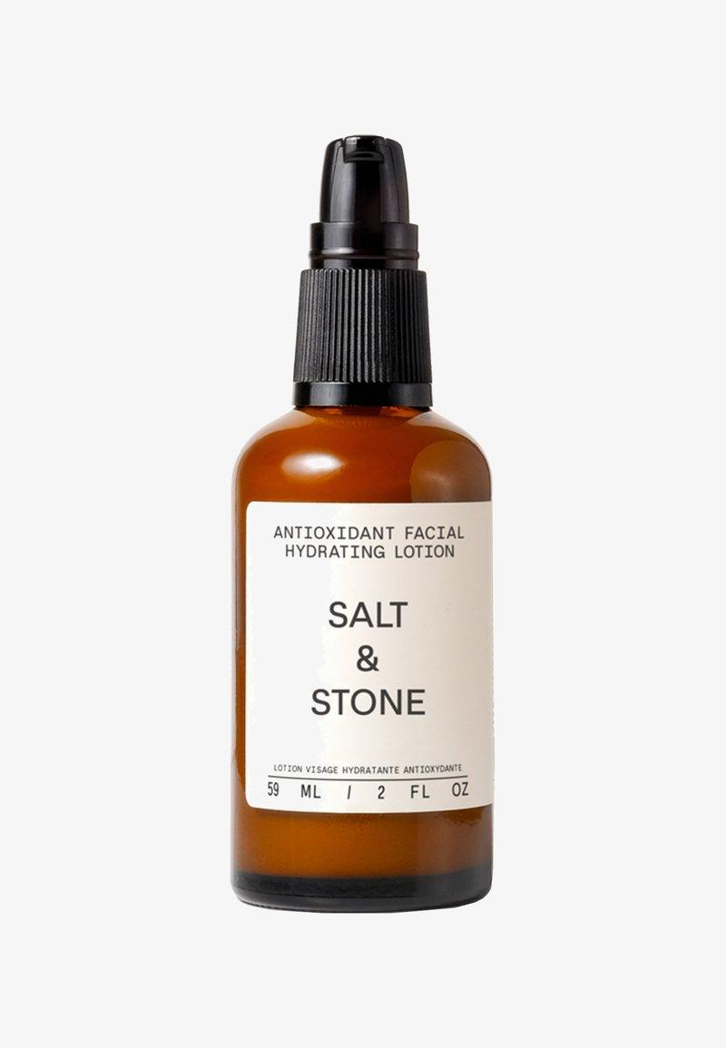 Salt & Stone - ANTIOXIDANT FACIAL HYDRATING LOTION - Pielęgnacja na dzień - -