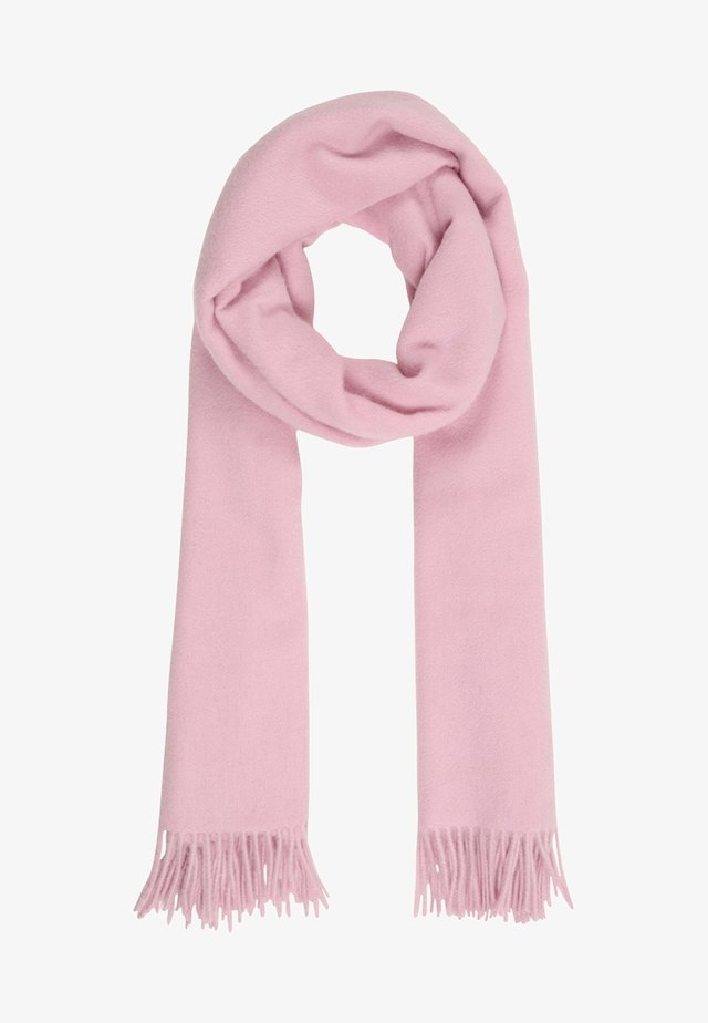 MIT FRANSENABSCHLUSS - Scarf - light pink