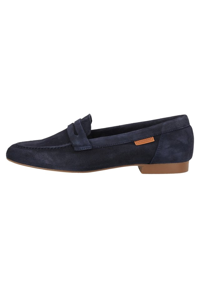 SANSIBAR SHOES SLIPPER - Półbuty wsuwane - blue