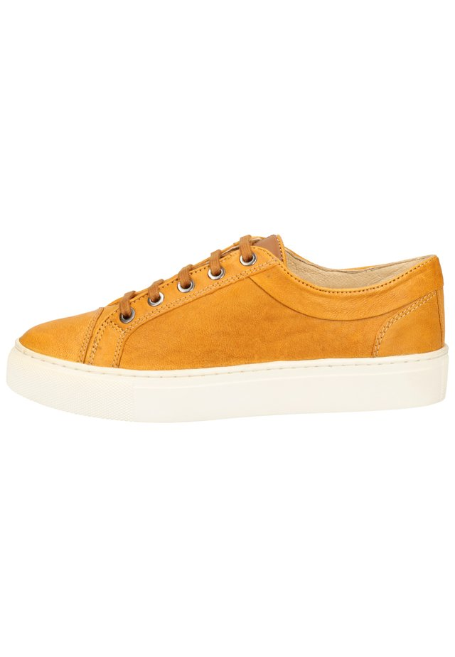 SANSIBAR SHOES SNEAKER - Sneakersy niskie - yellow