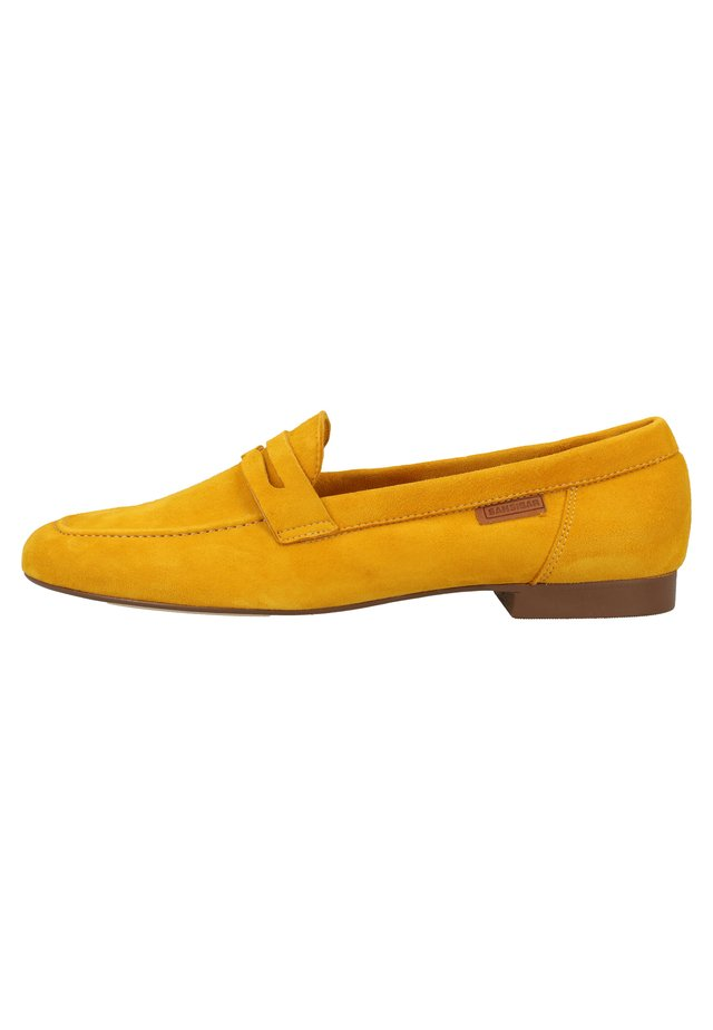 SANSIBAR SHOES SLIPPER - Półbuty wsuwane - yellow