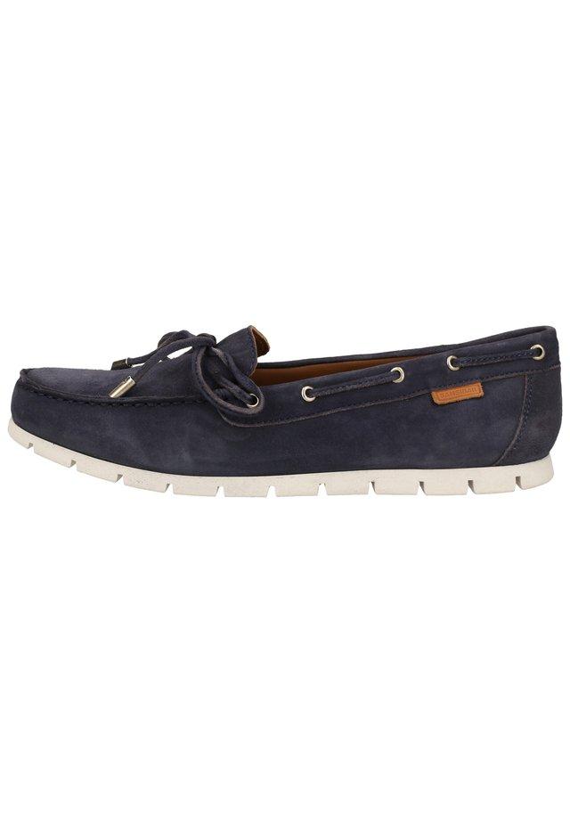 Chaussures bateau - dunkelblau 21