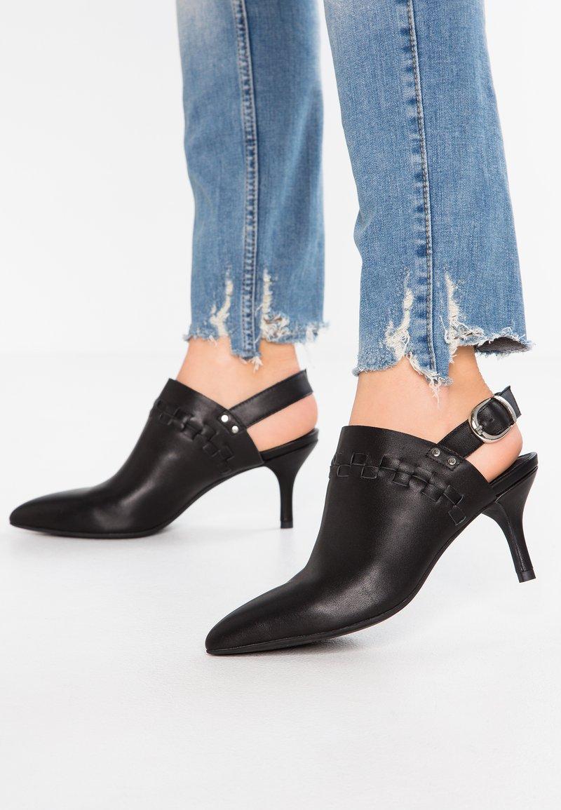 Shoe The Bear - AGNETE SLINGBACK - Tronchetti - black