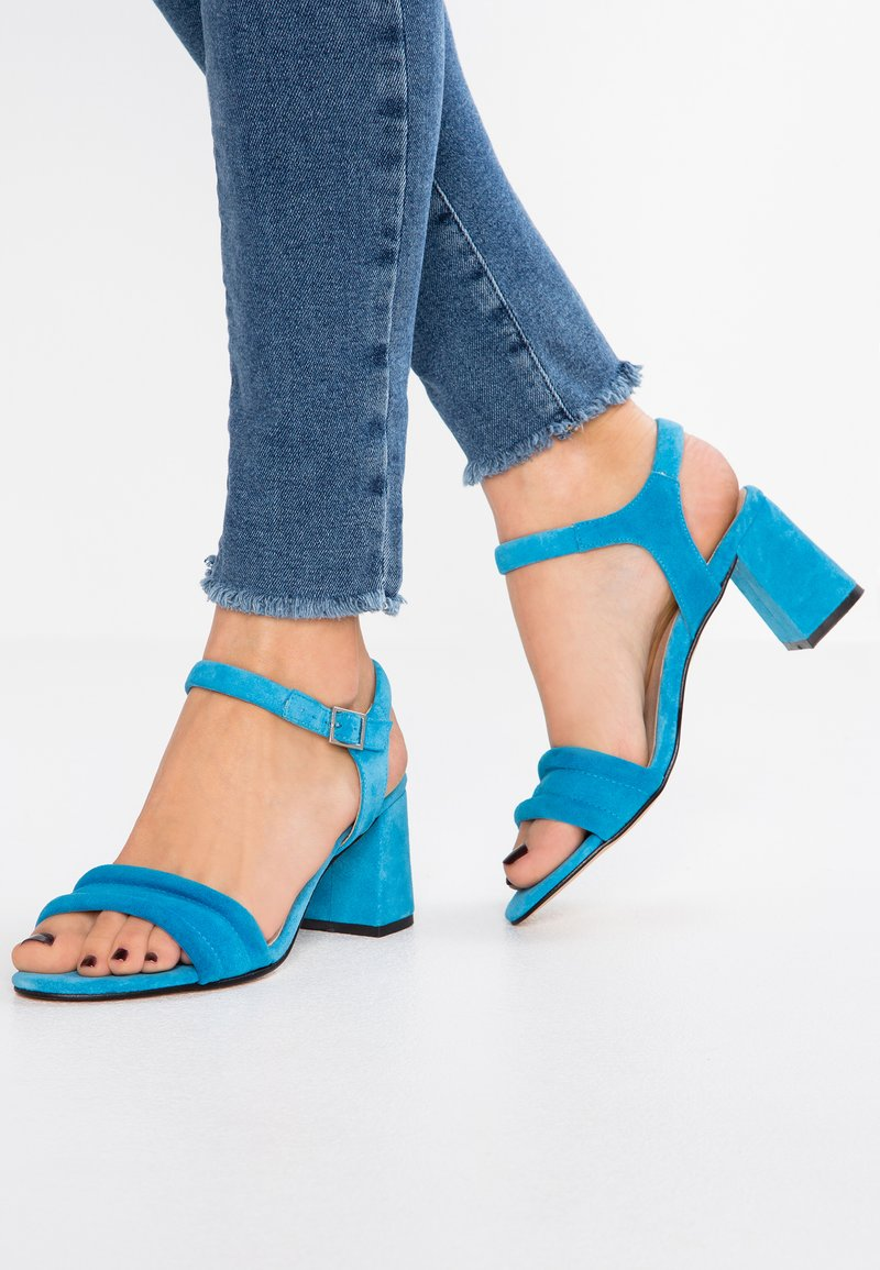 Shoe The Bear - MAY ANKLE - Sandals - blue