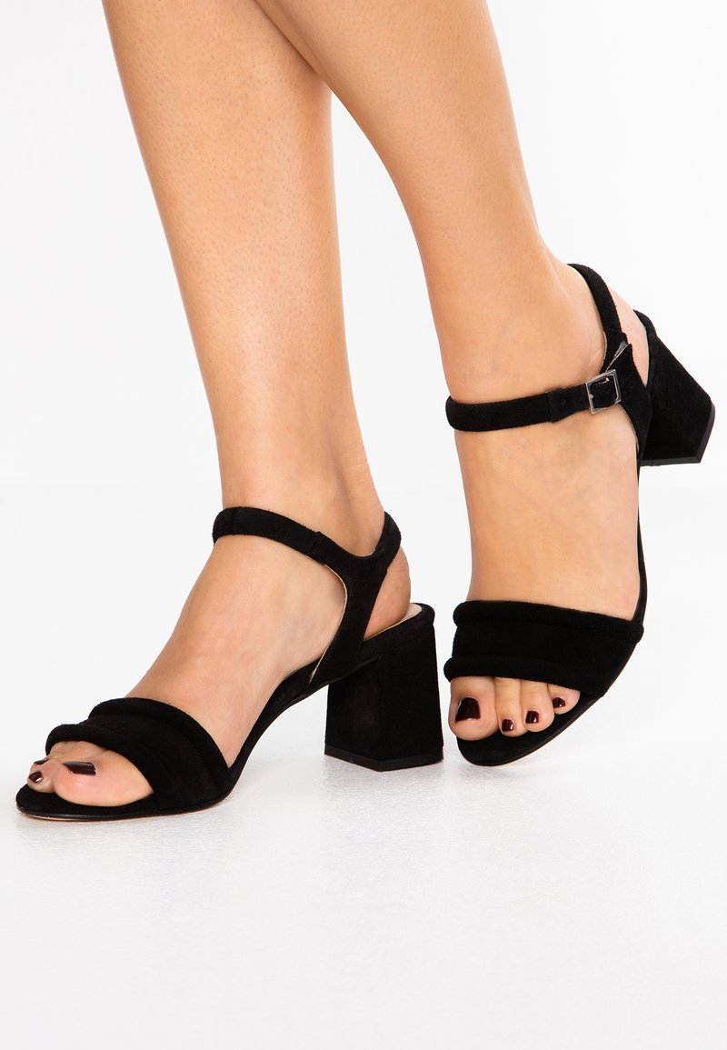 Shoe The Bear - MAY ANKLE - Sandals - black