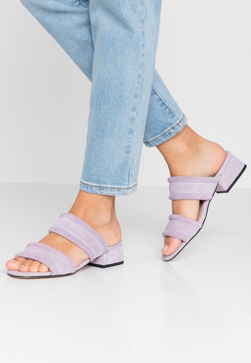 Shoe The Bear - YASMIN SLIDE  - Mules - lilac