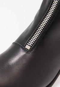 Shoe The Bear - JO FRONT ZIP - Støvletter - black - 2