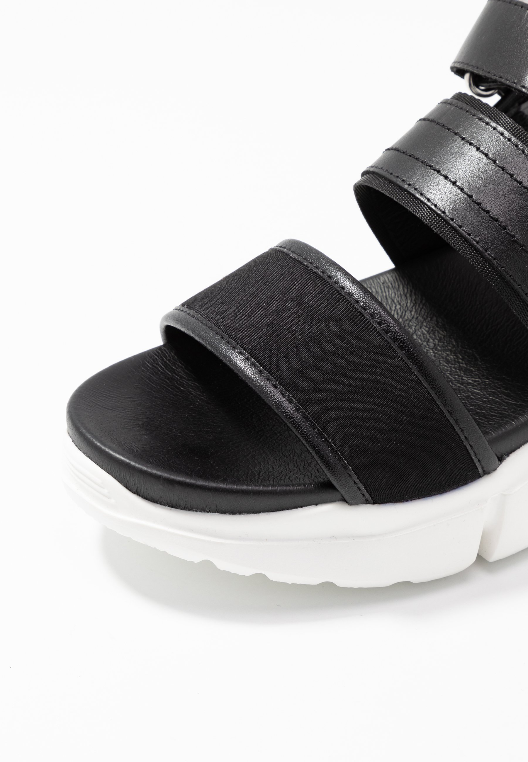 Shoe The Bear MALA SPORT - Platåsandaletter - black