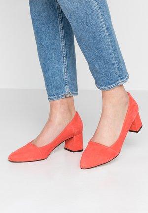 ALLISON - Escarpins - coral red