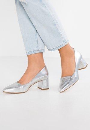 ALLISON - Classic heels - silver