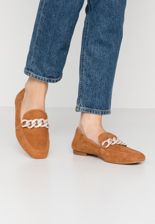 LUNA CHAIN  - Slipper - tan