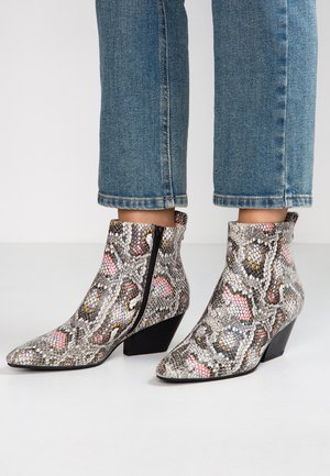 CLEO SNAKE - Ankle boots - multicolor