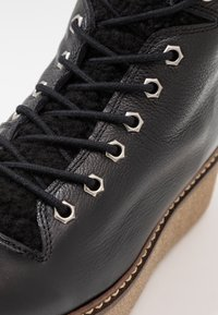 Shoe The Bear - BEX - Platåstøvletter - black - 2