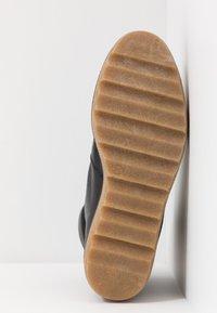 Shoe The Bear - BEX - Platåstøvletter - black - 6