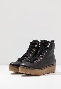 Shoe The Bear - BEX - Platåstøvletter - black - 4