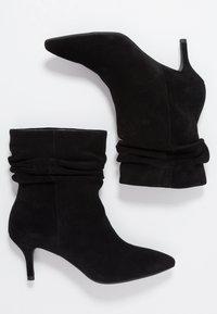 Shoe The Bear - AGNETE SLOUCHY - Korte laarzen - black - 3